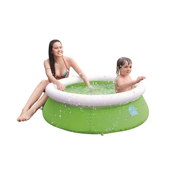 Бассейн надувной Jilong Kids pool Green