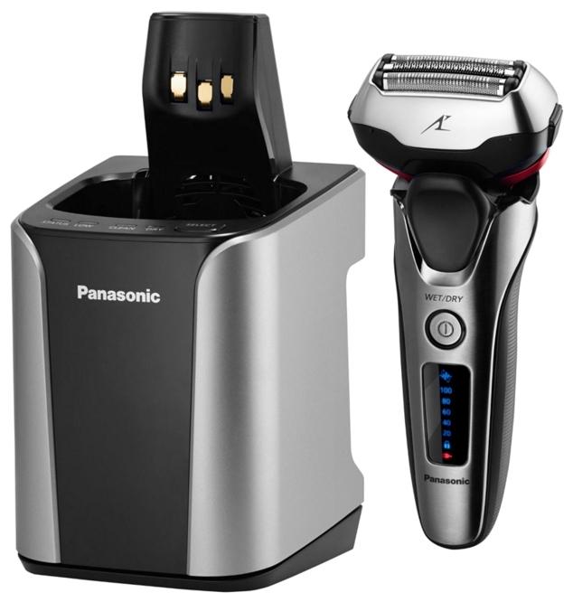 Panasonic ES-LT8N-S820 - (бритьё сухое / влажное; система сеточная; головок 3; 13000 об/мин; питание от аккумулятора; плавающие головки, подвижный бритвенный блок)