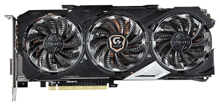 Видеокарта GIGABYTE GeForce GTX 980 1241Mhz PCI-E 3.0 4096Mb 7100Mhz 256 bit DVI HDMI HDCP GV-N980XTREME-4GD