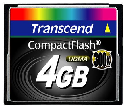 Карта памяти Transcend TS4GCF300