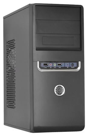 Корпус для компьютера FOX 2801BS 450W Black/silver 2801-BS