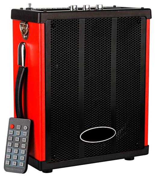 Портативная АС Max Q71, Black-red