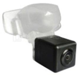 Incar VDC-101 для Honda CRV (2012) - Установка - вместо штатной подсветки номерного знака; Дисплей - автомагнитола или штатное головное