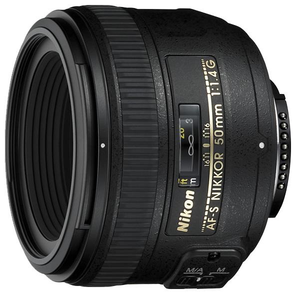 Фотообъектив Nikon 50 mm f/1.4G AF-S Nikkor JAA014DA