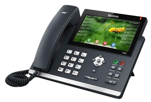 VoIP-телефон Yealink SIP-T48G, USB, WAN, LAN, Gigabit LAN, есть определитель номера