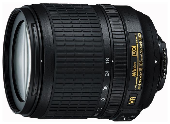 Фотообъектив Nikon 18-105mm f/3.5-5.6G AF-S ED DX VR Nikkor JAA805DB