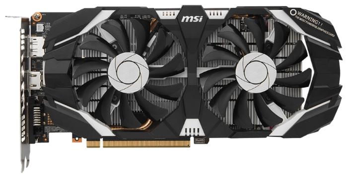 ���������� MSI GeForce GTX 1060 6144Mb GTX 1060 6GT OC