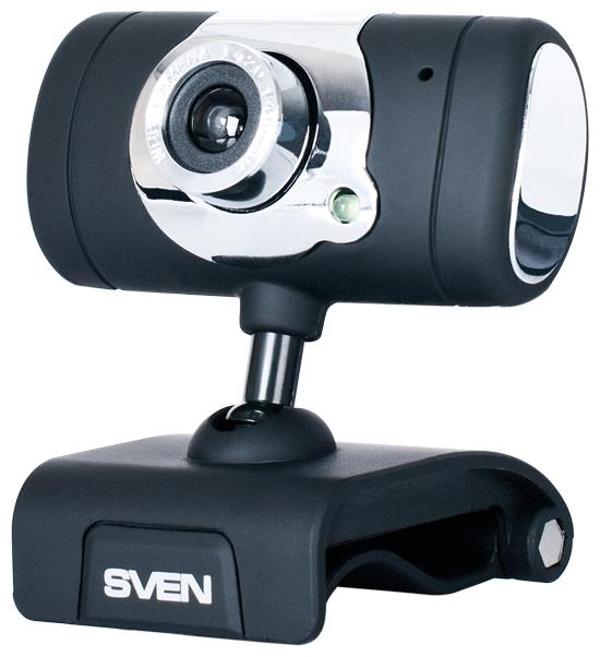 Веб-камера Sven IC-525 IC-525 Black-Silver