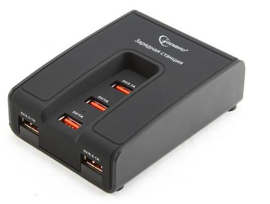 Адаптер питания Gembird MP3A-PC-02 (5 портов)