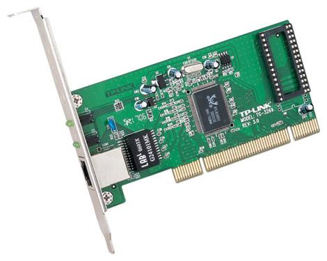 TP-LINK TG-3269 - PCI 2.2, 32 бит, 66 МГц, 10/100/1000 Мбит/с, кол-во разъемов RJ-45: 1