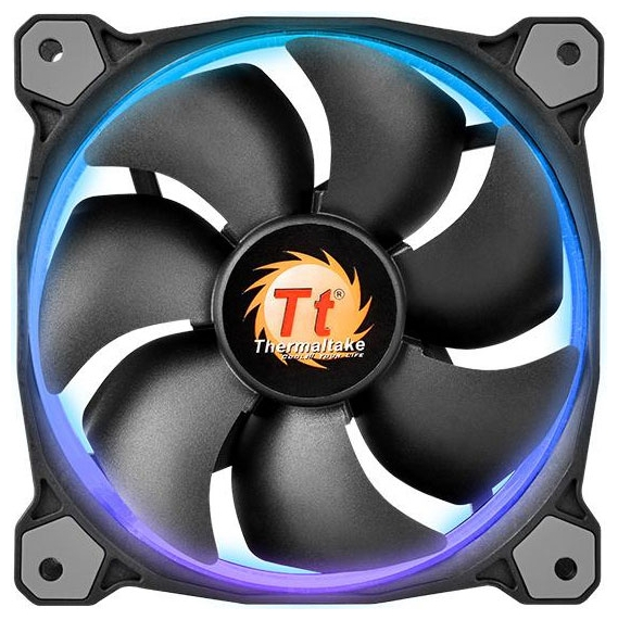 Вентилятор корпусной Thermaltake Riing 14 LED RGB (3 Fan Pack) CL-F043-PL14SW-B