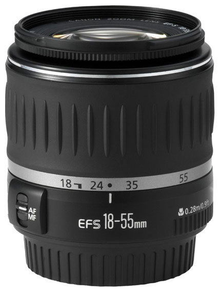 Фотообъектив Canon EF-S 18-55mm f/3.5-5.6 5121B005