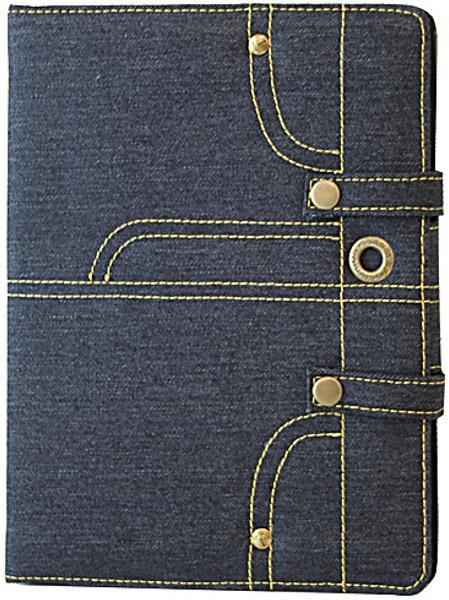 """Acropolis ПЛ-6/9 Jeans - (для экрана 9.7""""; текстиль; синий; Джинсовый • назначение - iPad 2 / 3 / 4)"""