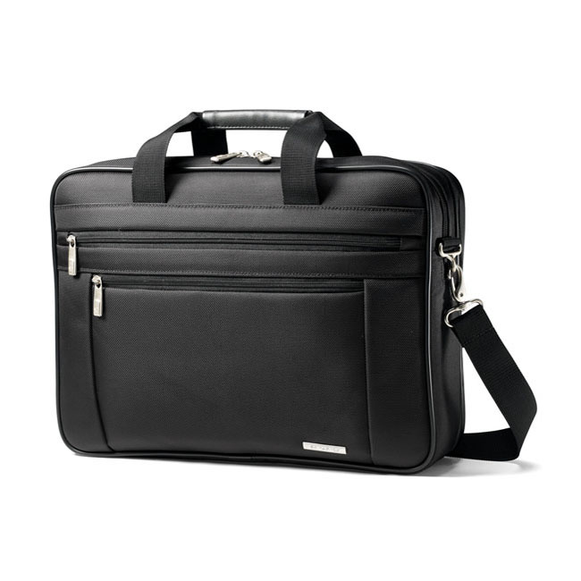 "Сумка Samsonite 15,6"" Toploader T7650 Black - нейлон 888012887"