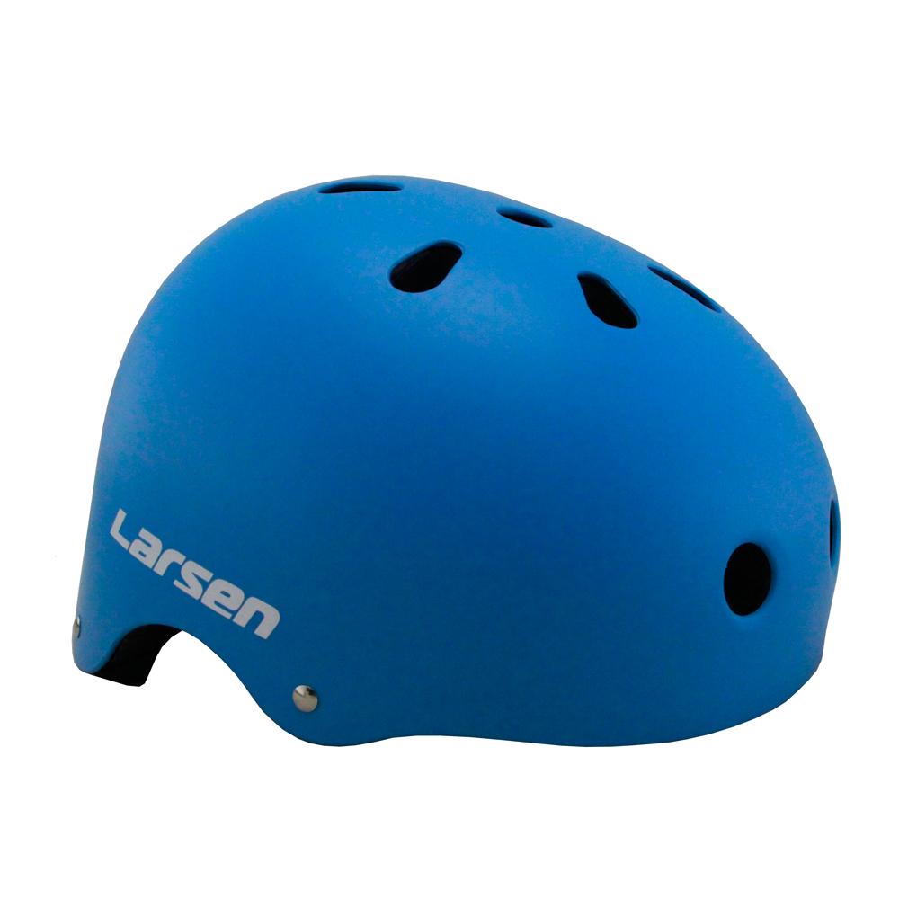Шлем роликовый Larsen Special (H4) голубой (L)