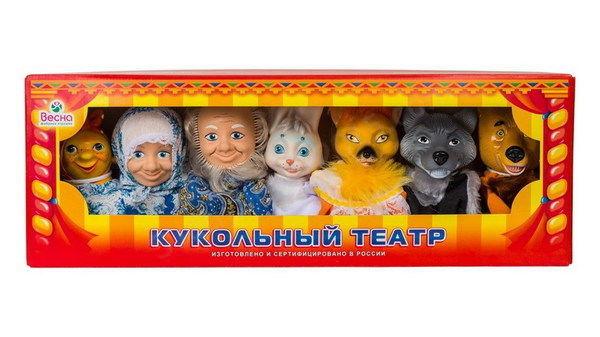 Весна Кукольный театр В2801, по сказкам №3