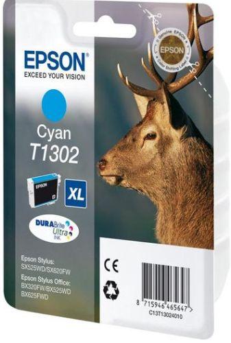 Картридж Epson T1302 XL, blue C13T13024010