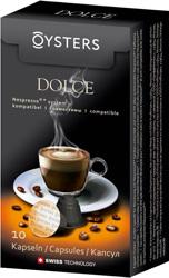 Oysters Dolce - Кофе в капсулах; Арабика, Робуста; капсул 10 шт.; совместимость - кофеварки и кофемашины Nespresso