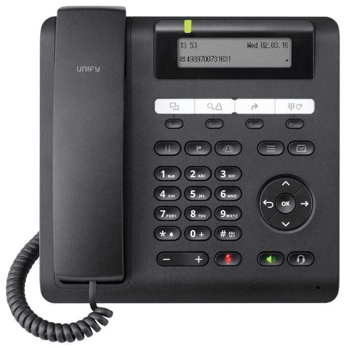 VoIP-телефон Siemens OpenScape CP200, LAN, есть определитель номера L30250-F600-C426