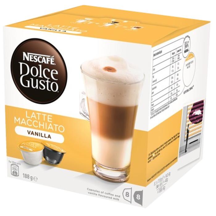 Кофе Nescafe Dolce Gusto Latte Macchiato Vanilla