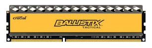 Crucial BLT4G3D1869DT1TX0CEU 4096Mb - 1 модуль 4 Гб; DDR3; DIMM 240-контактный; 1866 МГц; 1.5 В • ECC - нет; Registered - нет • CL