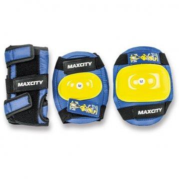 Защита роликовая MaxCity Little Rabbit, размер М, blue