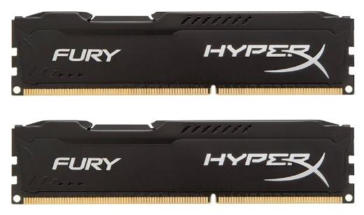 ����������� ������ Kingston HX316C10FBK2/8, 8 Gb (2x 4 Gb, DDR3 DIMM, 1600 ���, CL10)