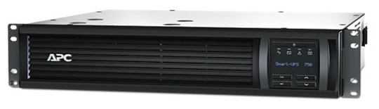 ИБП APC by Schneider Electric Smart-ups 750VA LCD RM 2U 230V (с сетевой картой), SMT750RMI2UNC
