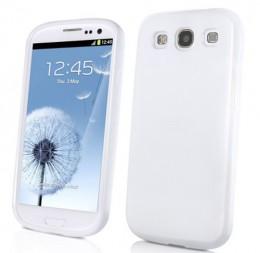 "Muvit для Samsung S3 i9300 White - (Samsung Galaxy S3; 4""; силикон)"