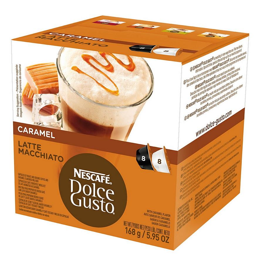 Кофе Nescafe Dolce Gusto Latte Macchiato Caramel, капсулы