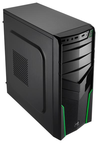 Корпус для компьютера AeroCool V2X Green Edition 600W, Green
