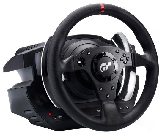 Thrustmaster T500RS - для ПК, PS3; руль 30 см; крестовина (D-pad) есть; педали - газ, тормоз, сцепление