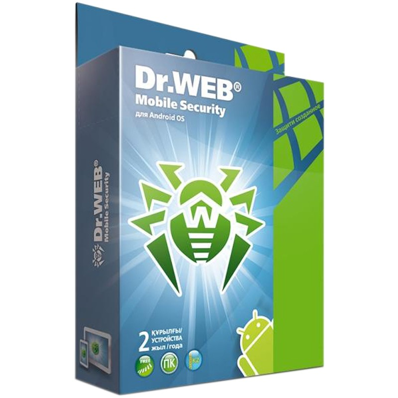 Антивирус Dr.Web Mobile Security BHM-AA-24M-2-A3
