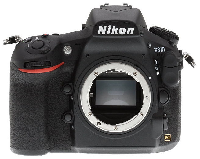 Фотоаппарат Nikon D810 Body, black VBA410AE
