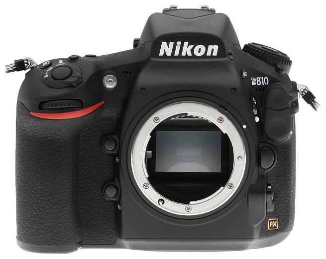 ����������� Nikon D810 Body, black VBA410AE