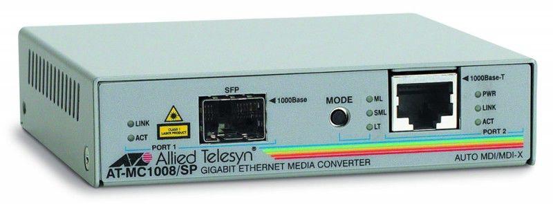 Медиаконвертер Allied Telesis AT-MC1008/SP-60