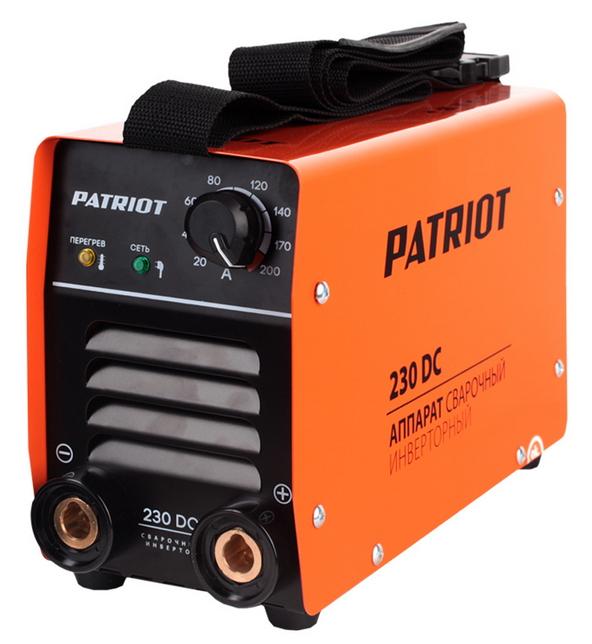 Сварочный аппарат Patriot 230 DC MMA [605 30 2520] 605302520
