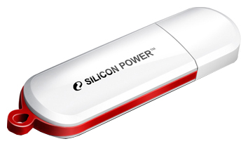 Фотография: Флешка Silicon Power LuxMini 320 16Gb white - 16 Гб; USB 2.0