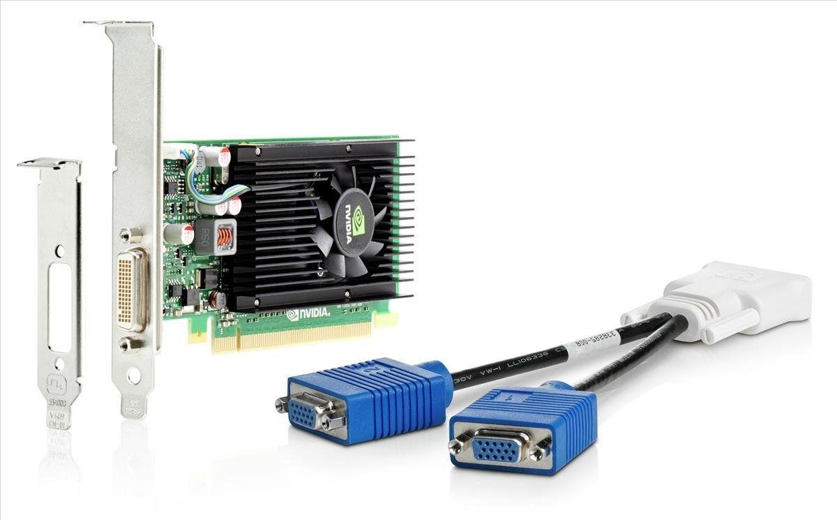 Видеокарта HP Quadro NVS 315 PCI-E 1024Mb 64 bit (E1C65AA)