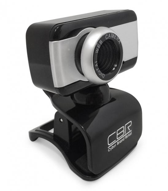 Веб-камера CBR CW 832M, Black silver CW 832M Silver
