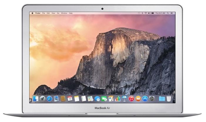Apple MacBook Air 11 MJVP2C18G (Z0RL0009V) - (Intel Core i7 2200 МГц. Экран 11.6 дюймов, 1366x768, широкоформатный. ОЗУ 8 Гб DDR3. Накопители SSD 256 Гб; DVD нет. GPU Intel HD Graphics (интегрированный). ОС MacOS X)
