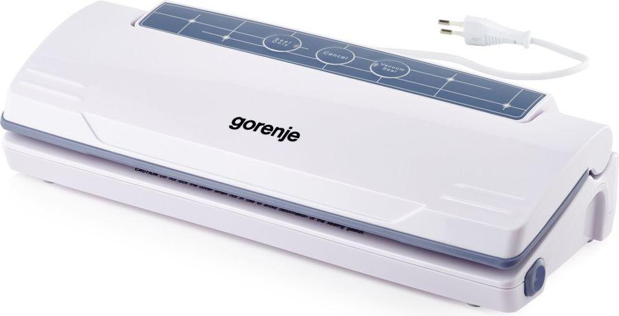 Вакуумный упаковщик Gorenje VS110W, Silver black