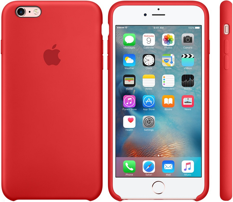 Чехол Apple для Apple iPhone 6S Plus MM6F2ZM/A Coral