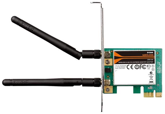 Wi-Fi ������� D-Link DWA-548/B1B (802.11n)