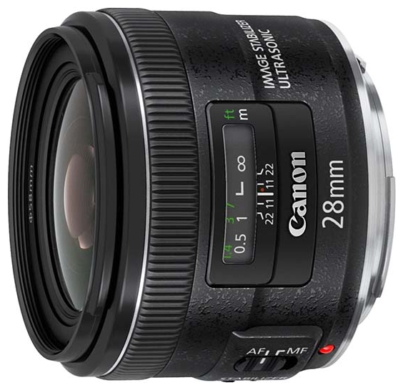 Фотообъектив Canon EF 28mm f/2.8 IS USM (5179B005)
