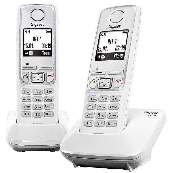 Радиотелефон Gigaset A420 DUO, white A420 DUO WHITE