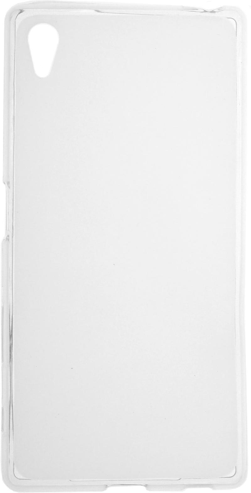 SkinBox для Sony Xperia Z5 Прозрачная - (Sony Xperia Z5; силикон)