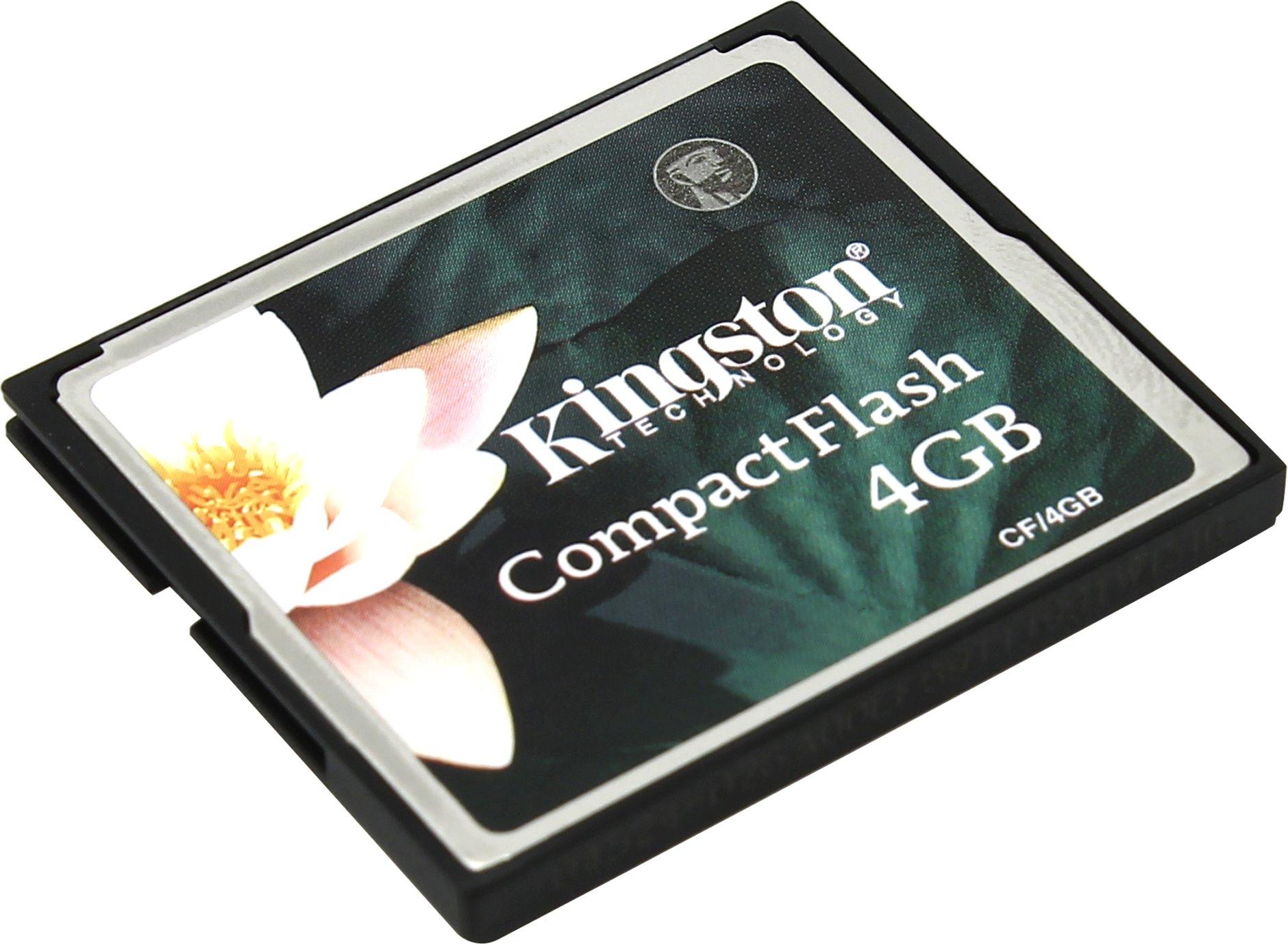 Карта памяти Kingston CF/4GB