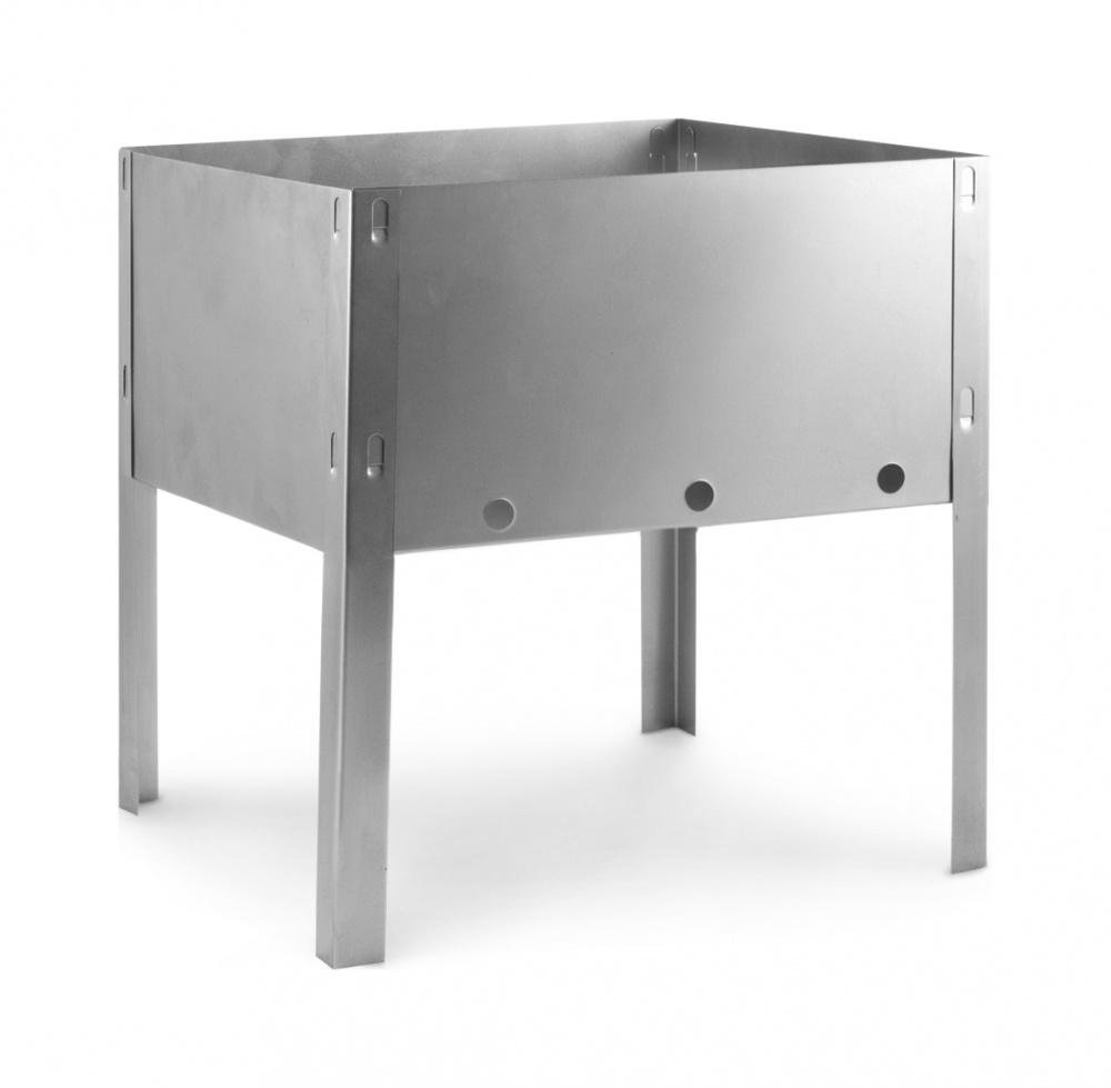 Мангал походный Эконом,30х24х30см,полиэт.упаковка,сталь 0,33мм 601-000