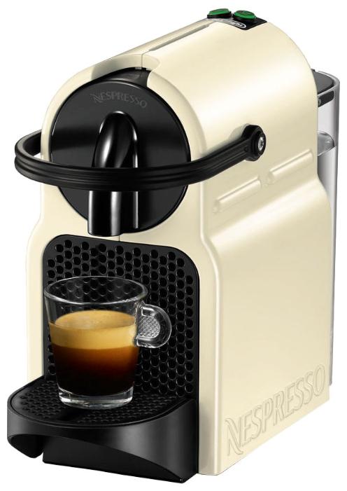 Nespresso DeLonghi EN80.CW Beige - капсульная, автоматическое приготовление; кофе - капсулы; нагреватель - термоблок; макс.давление